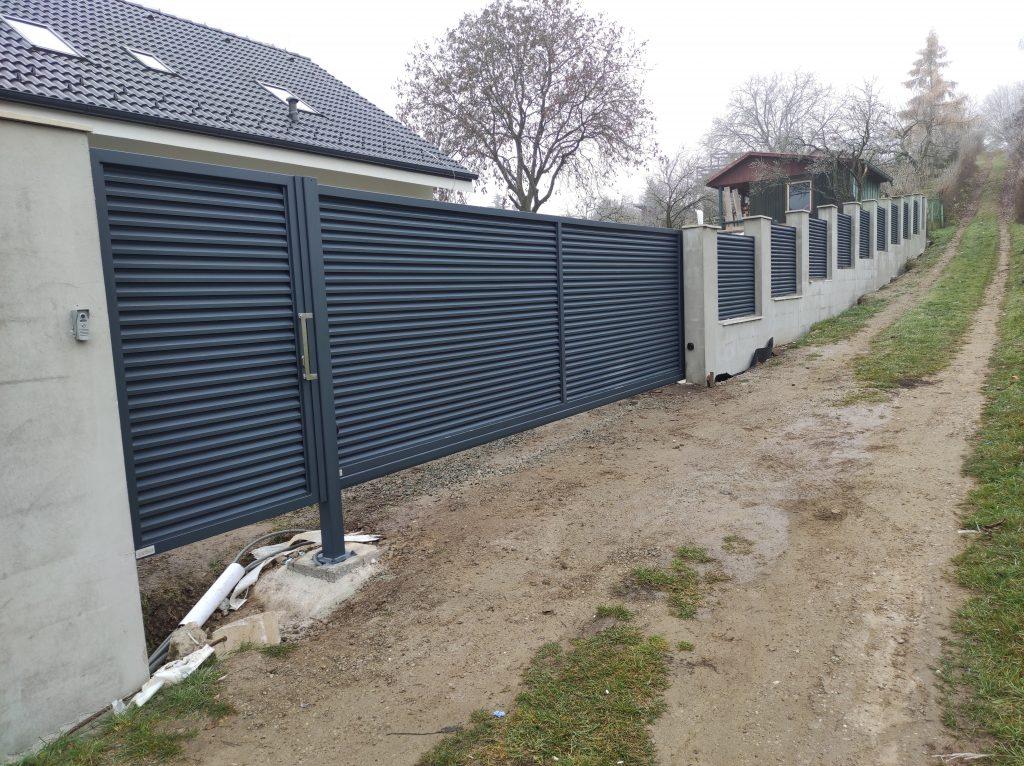 Hliníkové ploty na mieru