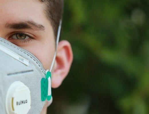 respirator na tvar