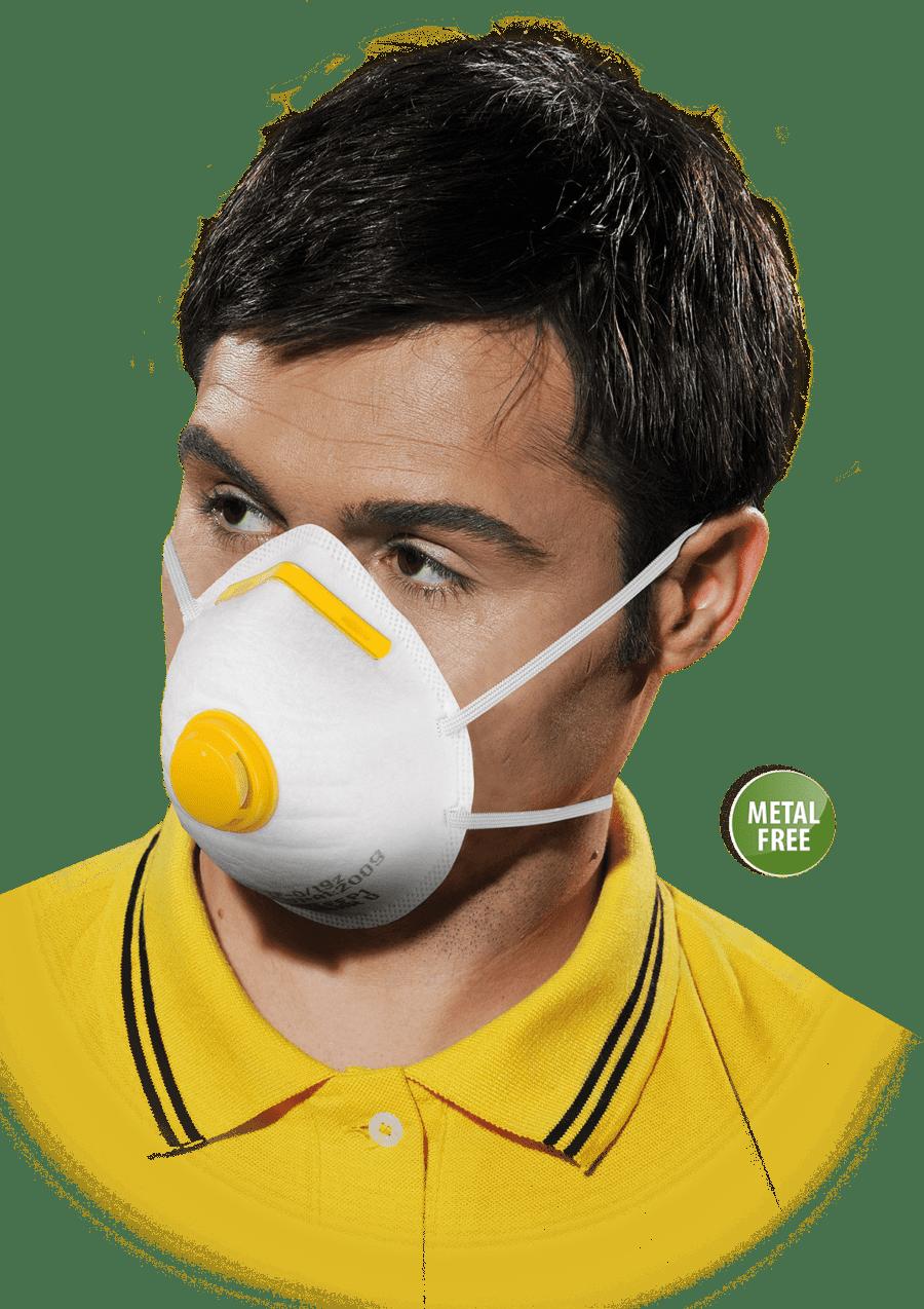 Respirátory, rúška a masky