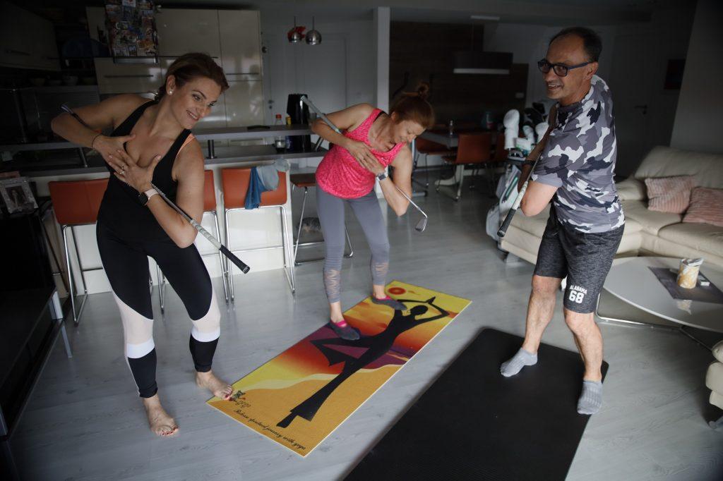 pilates cvičenie doma